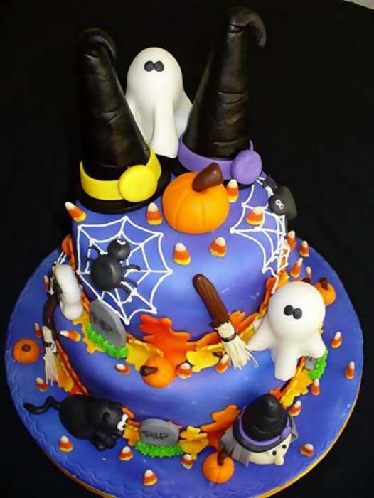 Halloween Cakes 46 Pics Curious Funny Photos Pictures