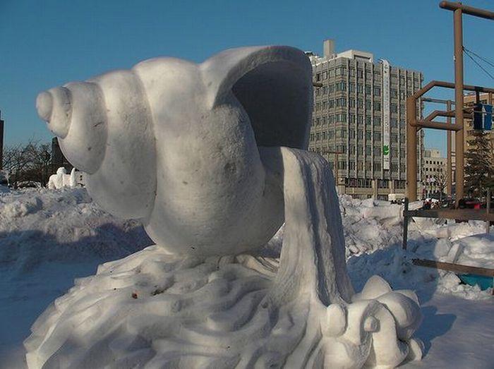 Awesome Snow Sculptures  ArtDesignCreative