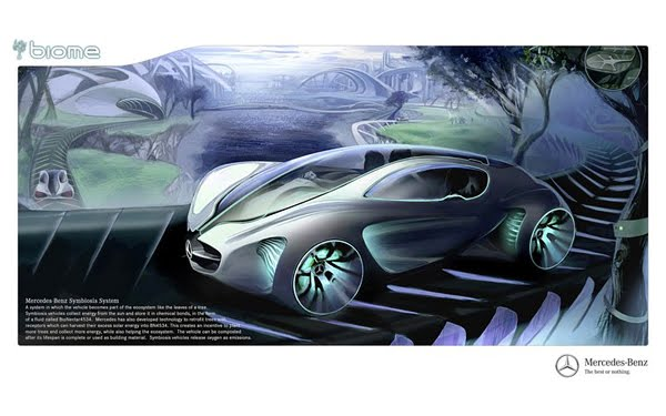Renewable Concept Car by Mercedes-Benz