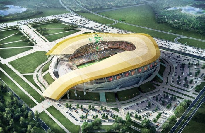 Stadiums for World Cup 2018, Russia
