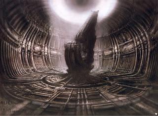 hr giger alienderelictcockpit - H.R. Giger regresará a trabajar con Ridley Scott en el nuevo filme de Alien?