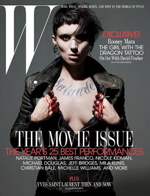 lisbeth rooney 500 - Rooney Mara: La Chica con el Tatuaje de Dragón!