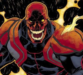 Red skull 01 - Arte conceptual de Red Skull del filme de Capitan America!