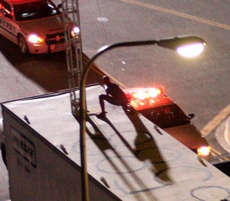 Spyder5 - Miren estás fotos de Spiderman en acción!!!