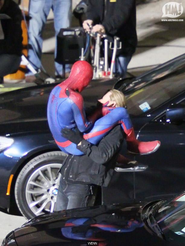 spidermansetpicsfeb4a9 - Fotos de Spiderman en acción!