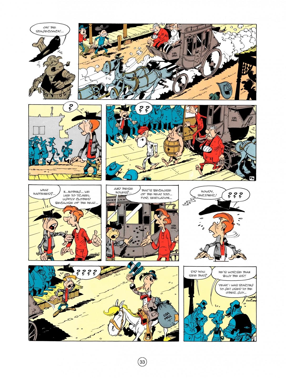 Read online A Lucky Luke Adventure comic -  Issue #1 - 35