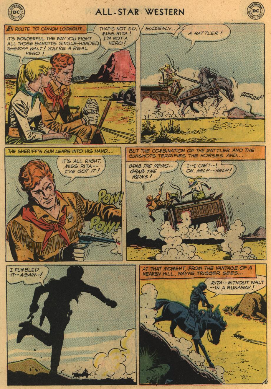 Read online All-Star Western (1951) comic -  Issue #100 - 10