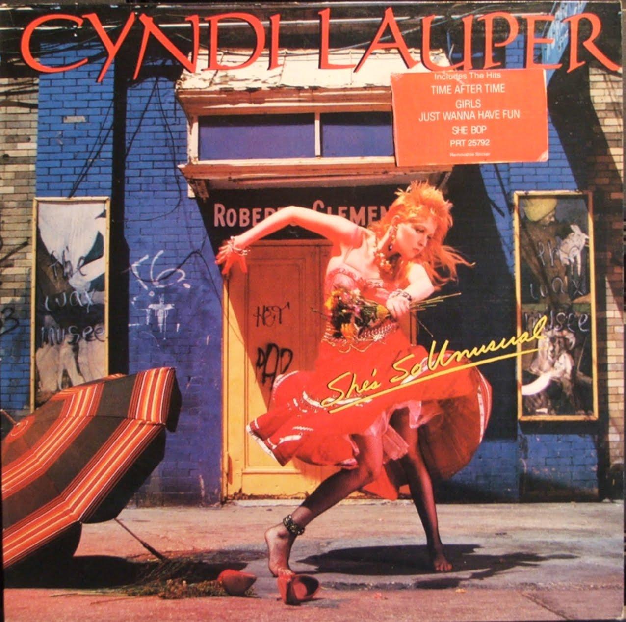 #486: She's So Unusual by Cyndi Lauper | MARYANNIMAL