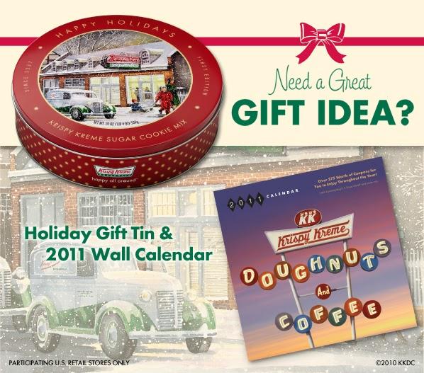 Krispy Kreme Calendar.The 4m Project Give The Gift Of Krispy Kreme
