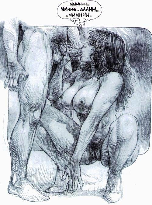 dessin animé nue travesti actif