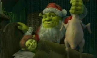 Shrek Christmas.Animated Toast Shrek The Halls