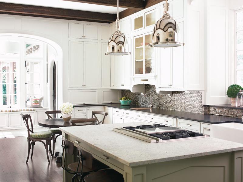 Gorgeous Kitchen Renovation In Potomac Maryland: Shomei Pear: Dream Kitchen Of White