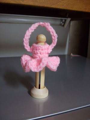 Crochet ballerina doll free pattern | 400x300