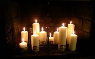 Hearth and home, Candle lit and Hearth on Pinterest