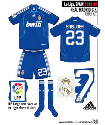 140ec881e The other features on the Real Madrid away player version football shirts  is printed  formation  logo on shirt and Embroidered white Real Madrid  wording at ...
