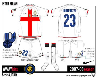 e21fe1448 Football teams shirt and kits fan  Inter Milan away shirt 2007-08