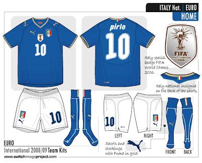 separation shoes 681d8 0e9bd Football teams shirt and kits fan: Italy 'FIFA World ...