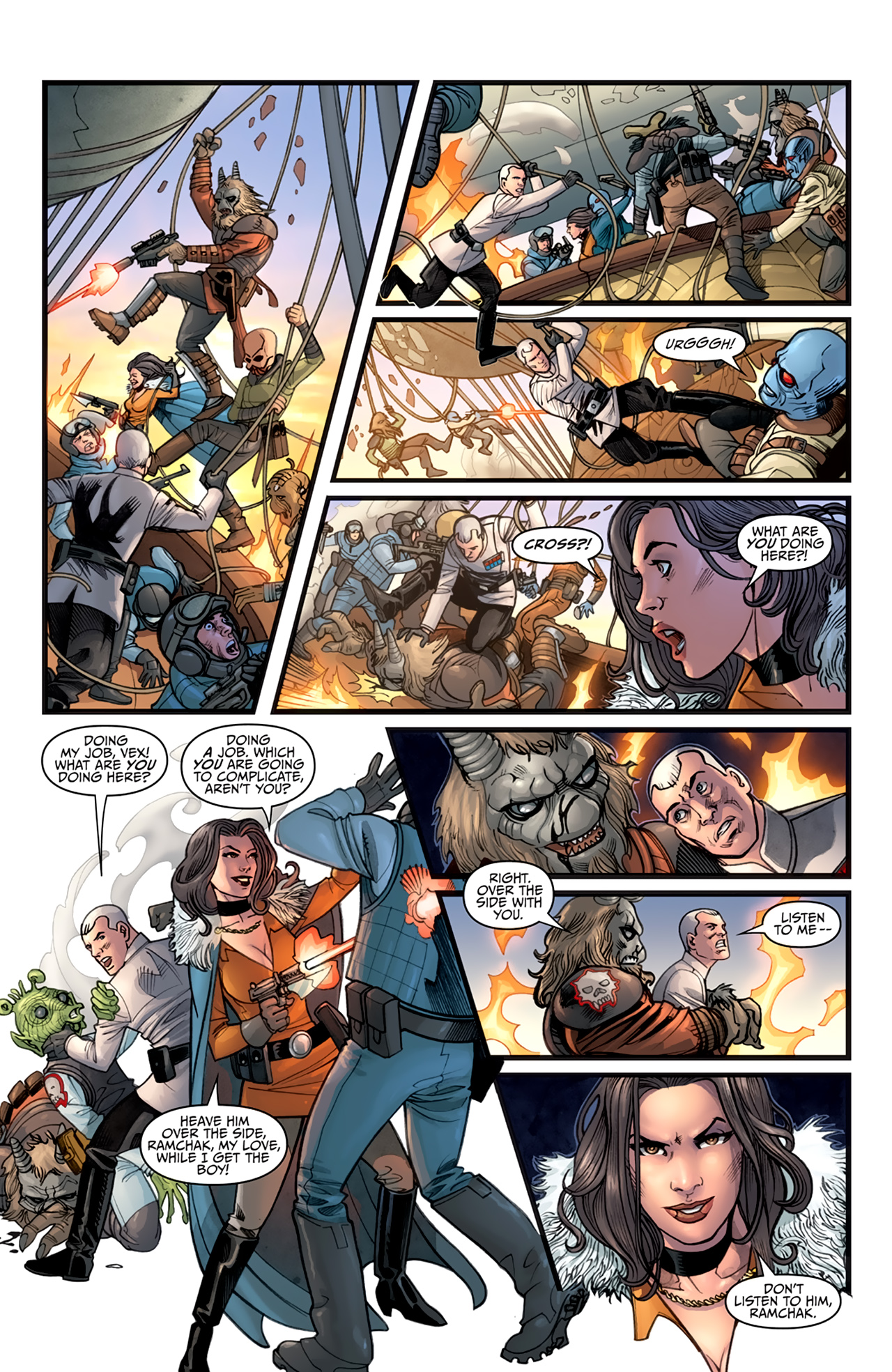 Read online Star Wars: Agent Of The Empire - Hard Targets comic -  Issue #2 - 19