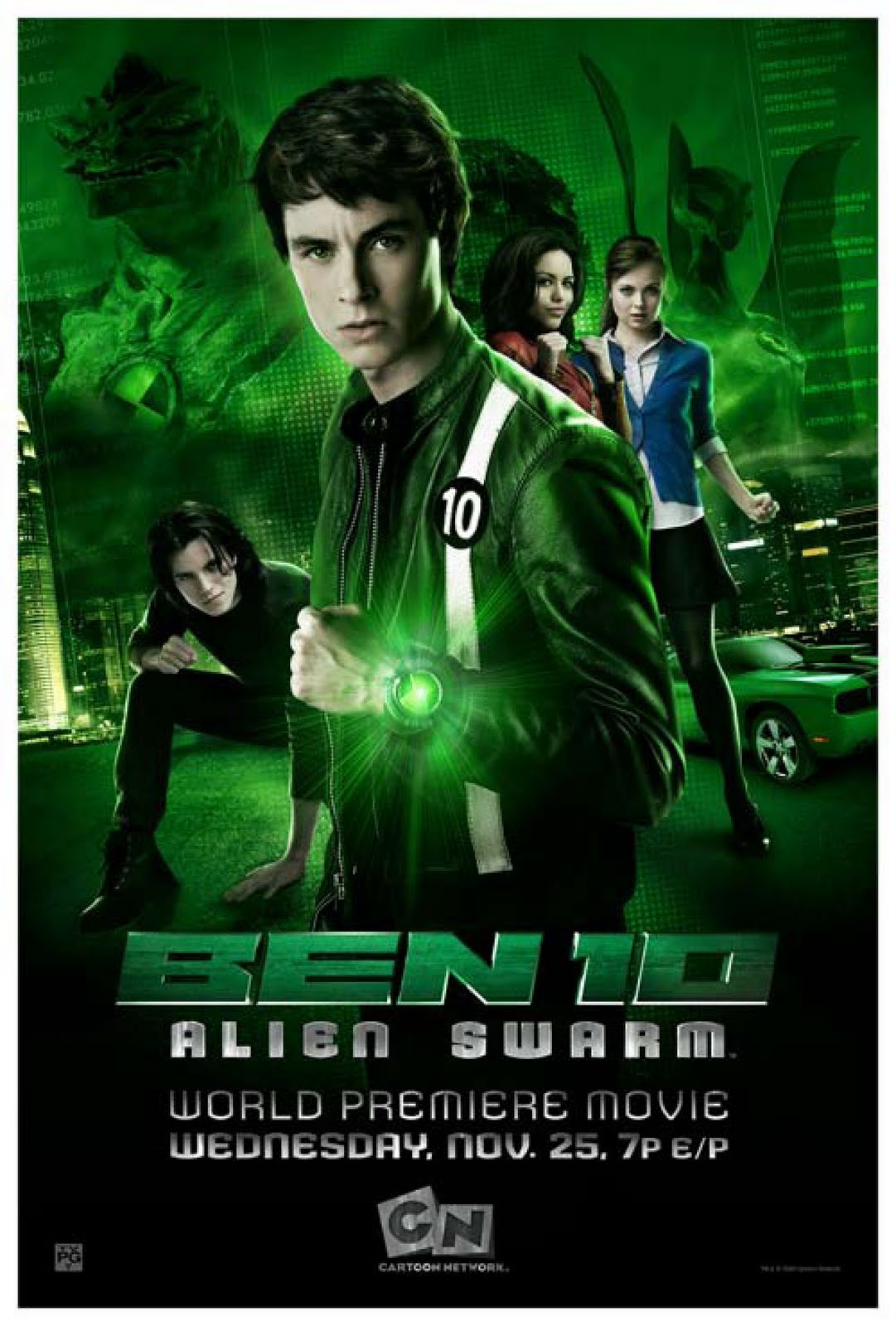 Ben 10 Alien Swarm 2009 1080p BluRay x264-aAF | 6.5 GB |