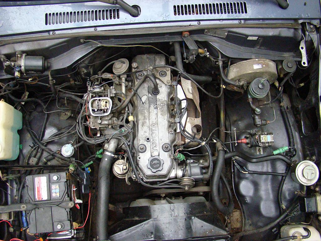 1986 Toyota Engine Diagram Schematics Wiring Diagrams Pickup Parts 22r Starter 2 4 Mr2