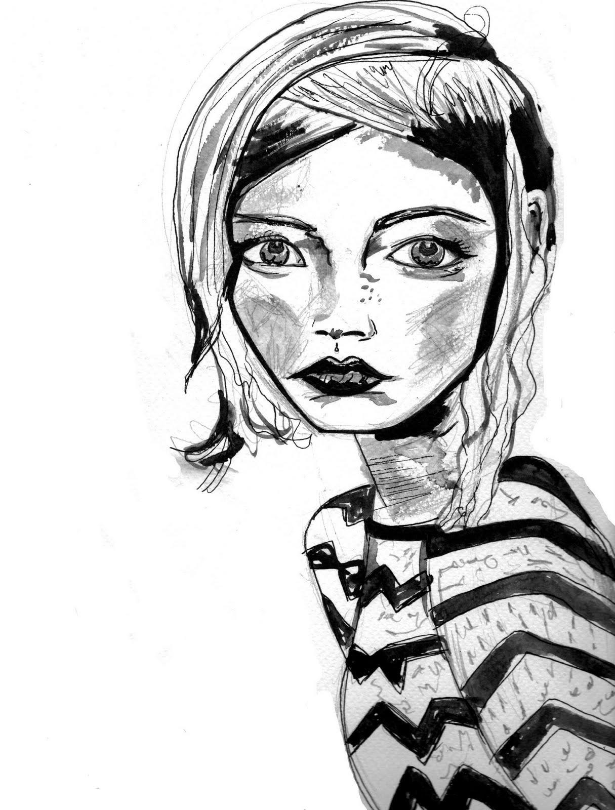 Carly Watts Art & Illustration: Zigzag