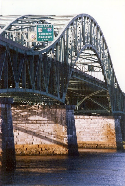 John Greenleaf Whittier, Bridge, Newburyport, Massachusetts
