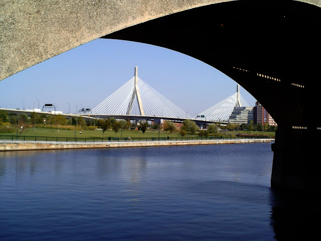 Zakim, Bunker Hill Bridge, Boston, Massachusetts