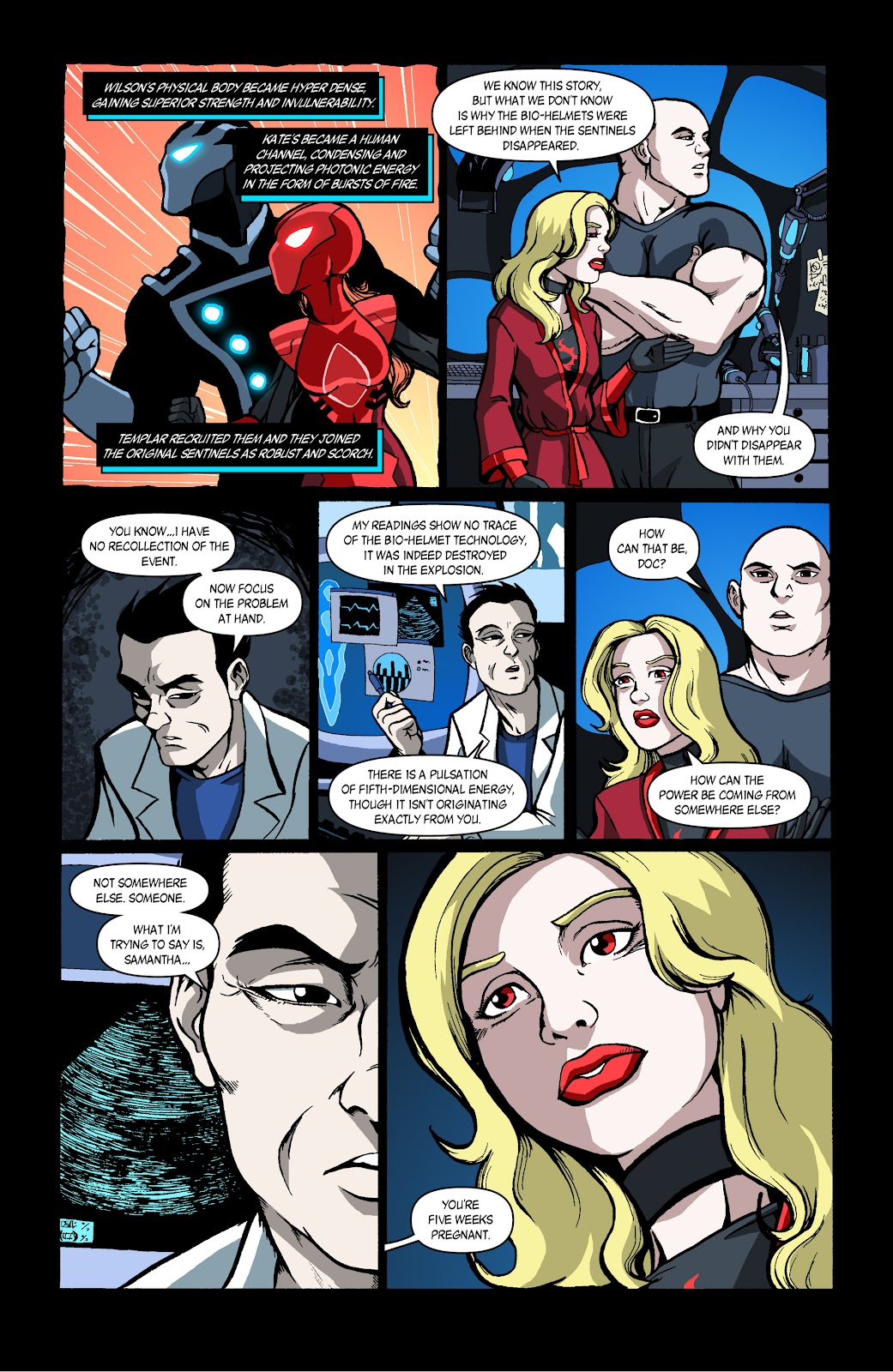 Sentinels issue 4 - Page 4