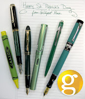 Happy St. Patricks Day from Goldspot Pens