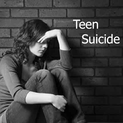 online suicide video teen
