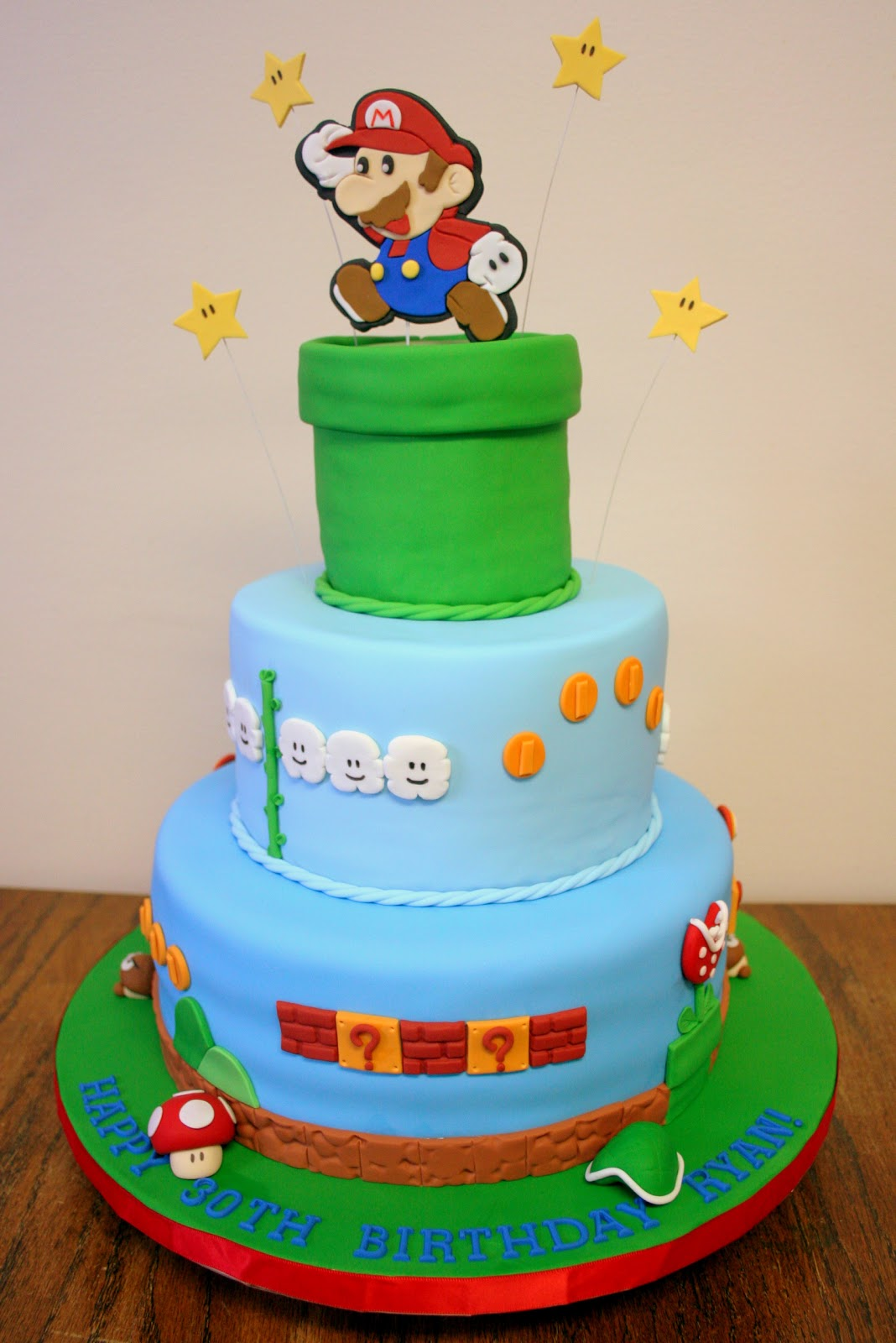 Stuff By Stace Super Mario Brothers Cake