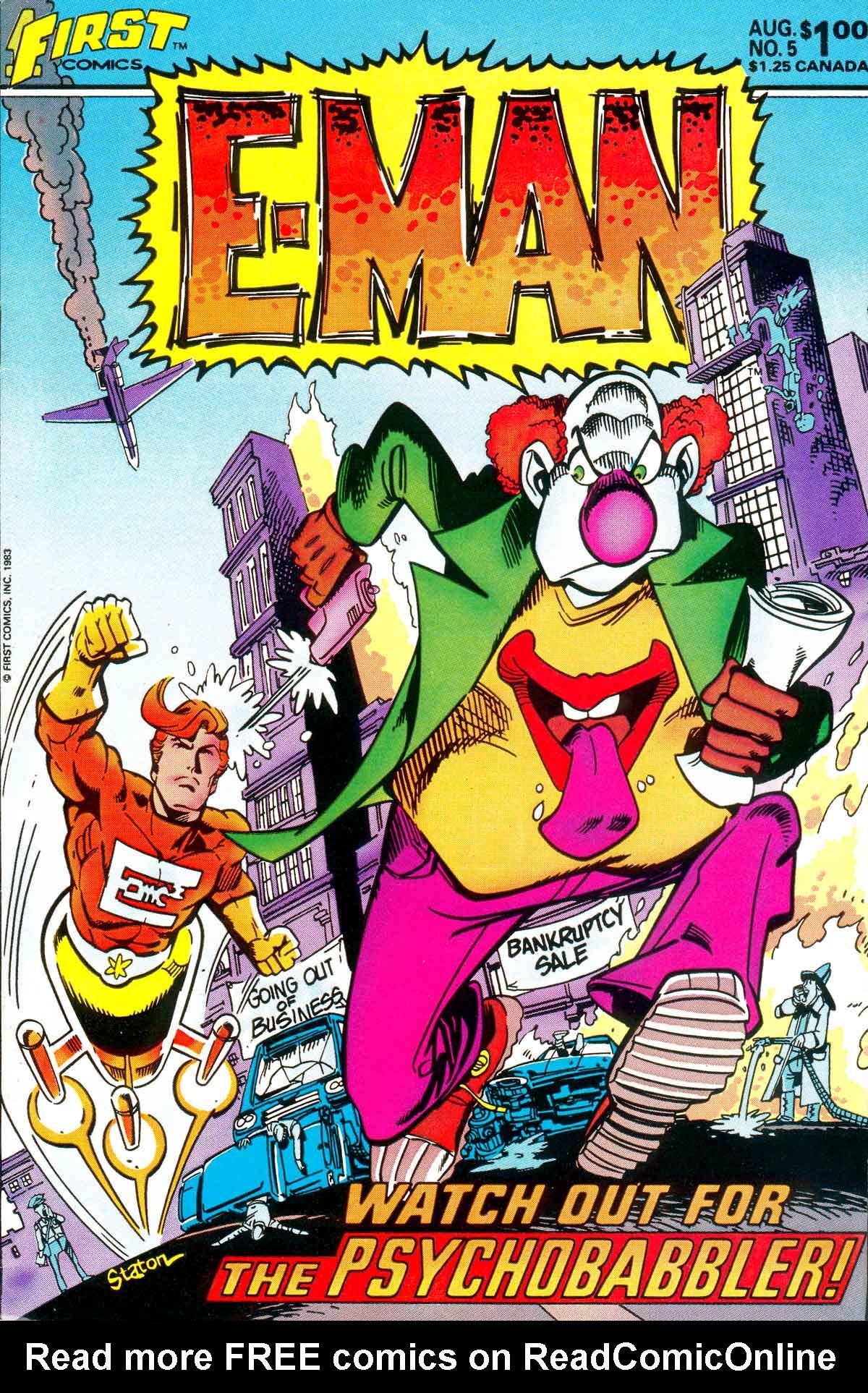 E-Man (1983) 5 Page 1
