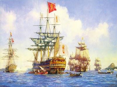 Resultado de imagem para imagens da chegada dos europeus na america