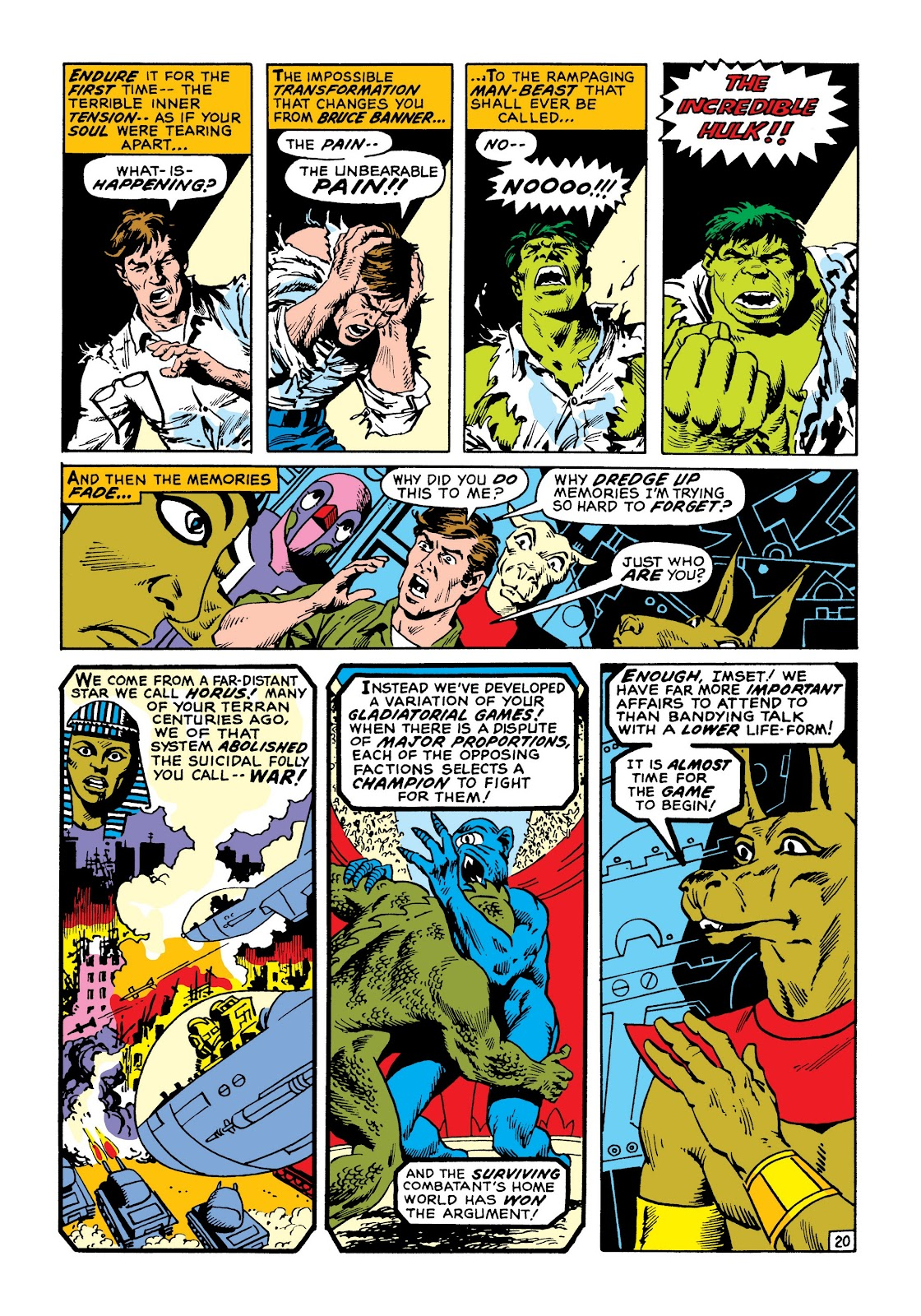 Read online Marvel Masterworks: The Incredible Hulk comic -  Issue # TPB 8 (Part 1) - 27