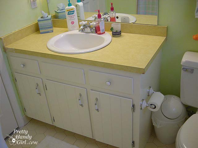 S Guest Bathroom Makeover Pretty Handy Girl - 1970 bathroom remodel