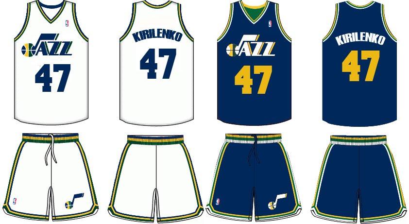 super popular c3f22 1a82e New Utah Jazz Uniforms for 2010-2011: Mockup 3.0   jazzfanatical
