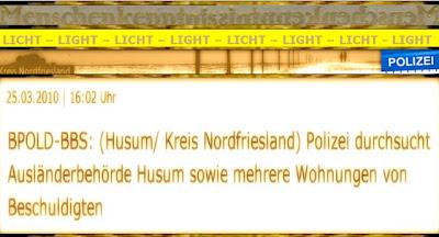 die abwehr nordfriesland bundespolizei lka beschlagnahmt akten im kreishaus nordfriesland in. Black Bedroom Furniture Sets. Home Design Ideas