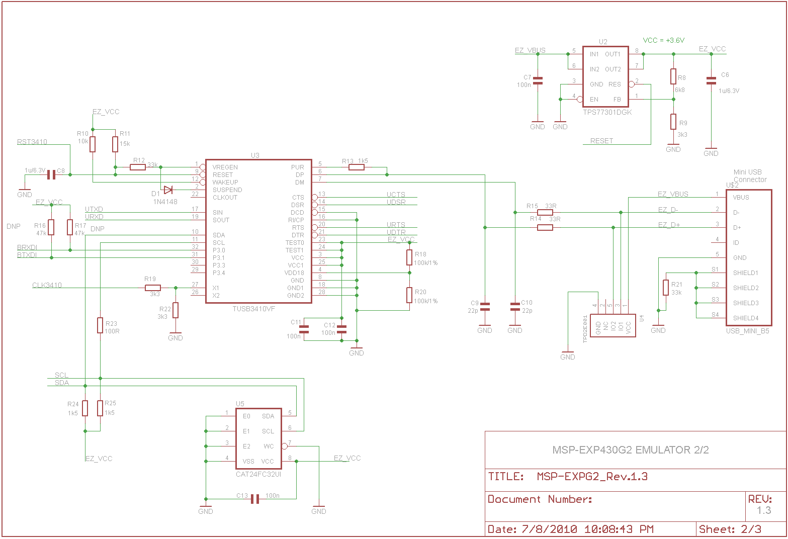 Msp430 Launchpad Schematic Images And Explanation