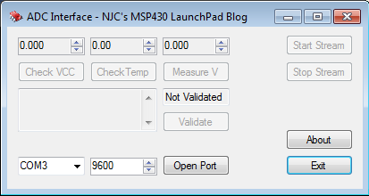 MSP430 LaunchPad: A Simple ADC Example on the LaunchPad