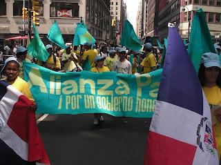 Resultado de imagen para seccional del Partido Alianza País en Nueva York