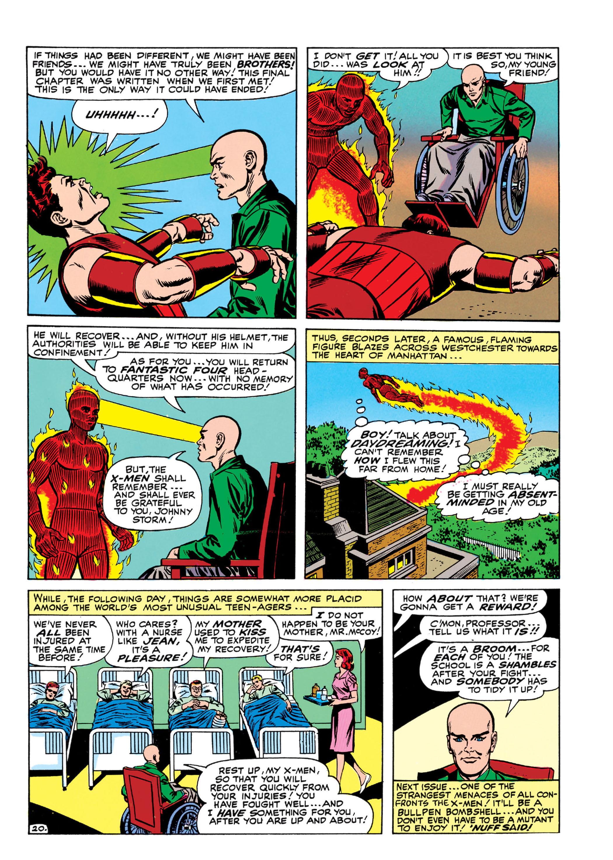 Read online Uncanny X-Men (1963) comic -  Issue #13 - 21