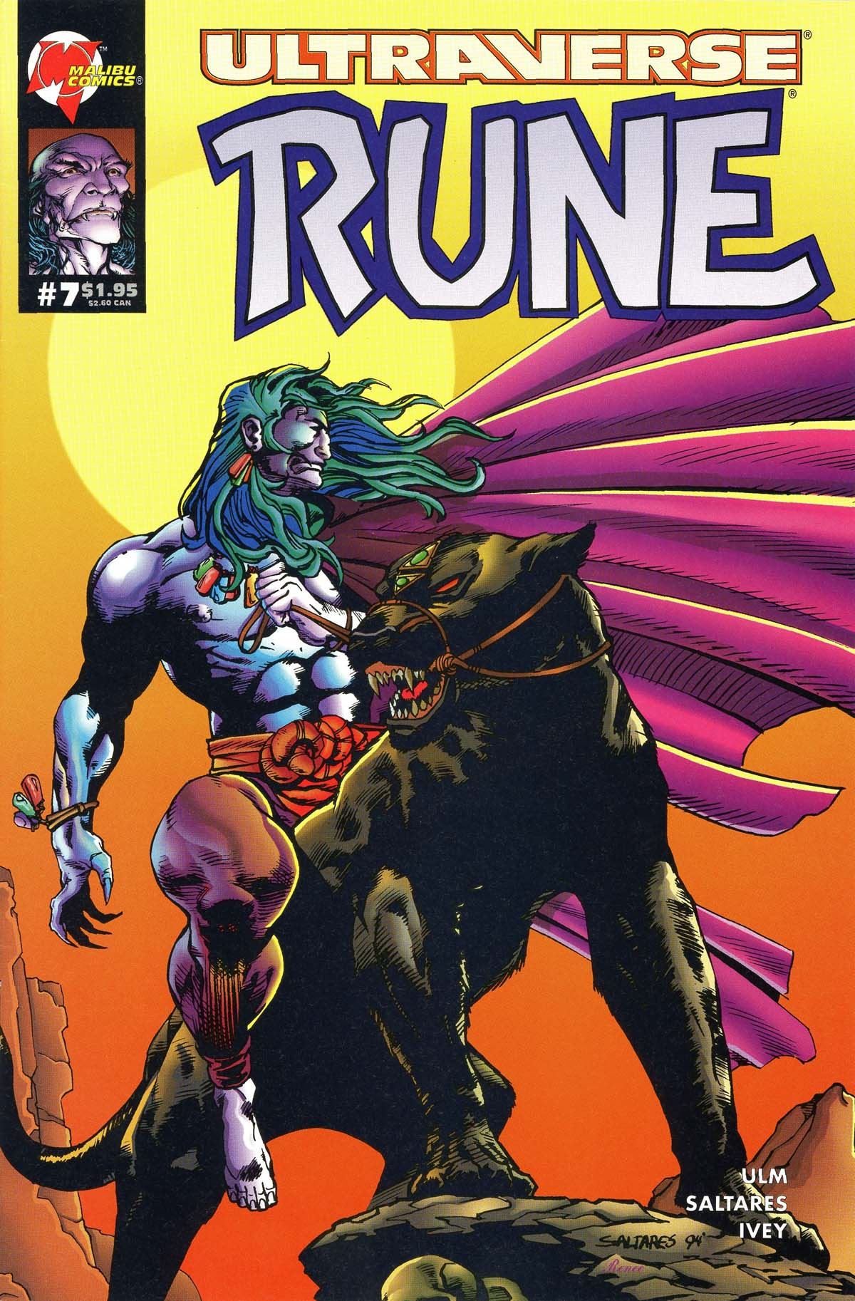 Read online Rune (1994) comic -  Issue #7 - 1