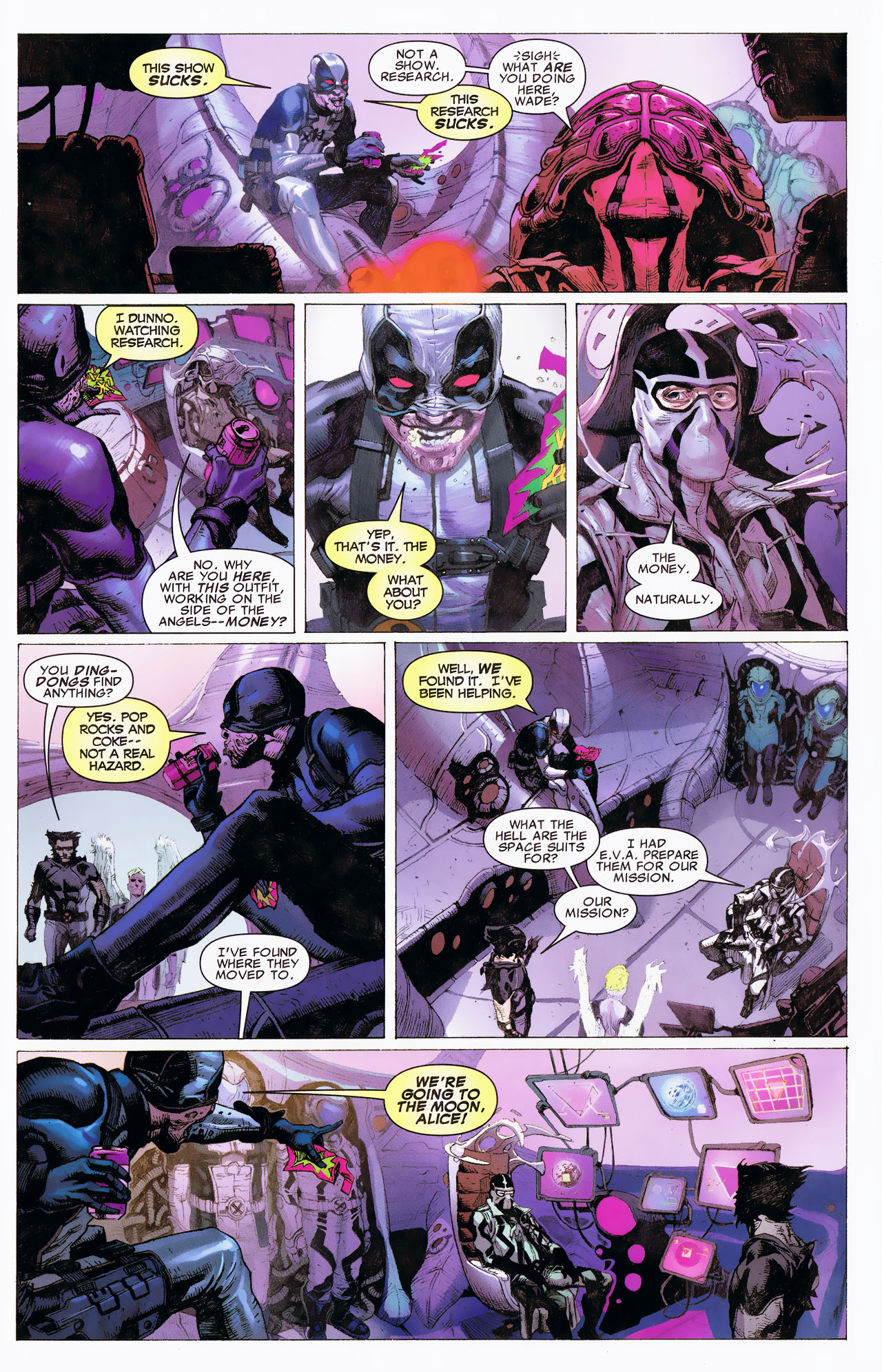 Read online Uncanny X-Force: The Apocalypse Solution comic -  Issue # Full - 38