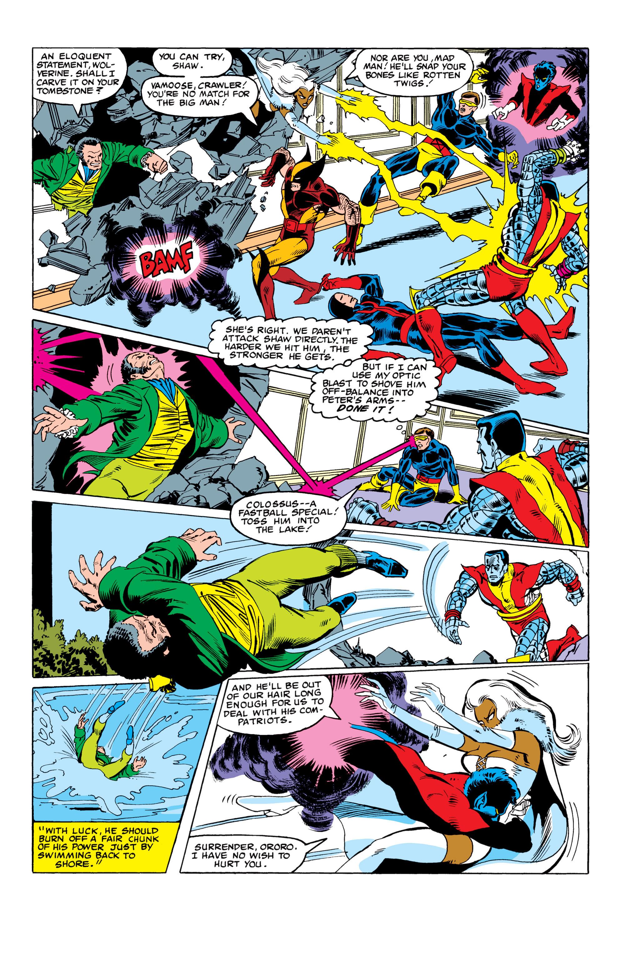 Read online Uncanny X-Men (1963) comic -  Issue #152 - 18
