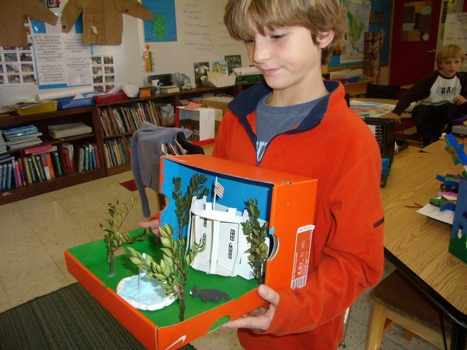 3rd Grade Diorama On NASA (page 2) - Pics about space