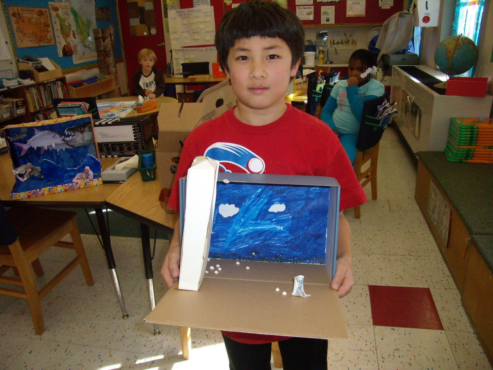 3rd Grade Diorama About NASA - Pics about space