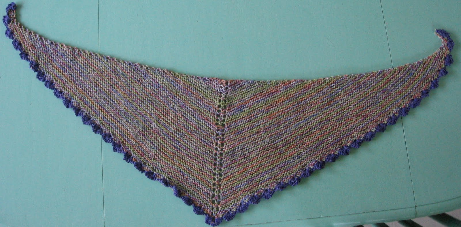Thinking Out Loud: Some Shawls And More Mail