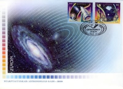 New stamps on Astronomy ~ stamps clup