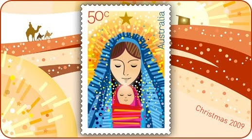 Rainbow Stamp Club Christmas Stamps From Australia