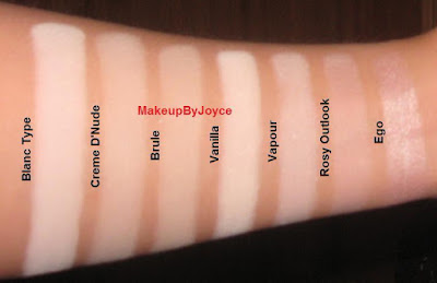MakeupByJoyce ** !: Collection and Swatches: Highlights ...